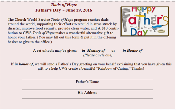 Tools of Hope