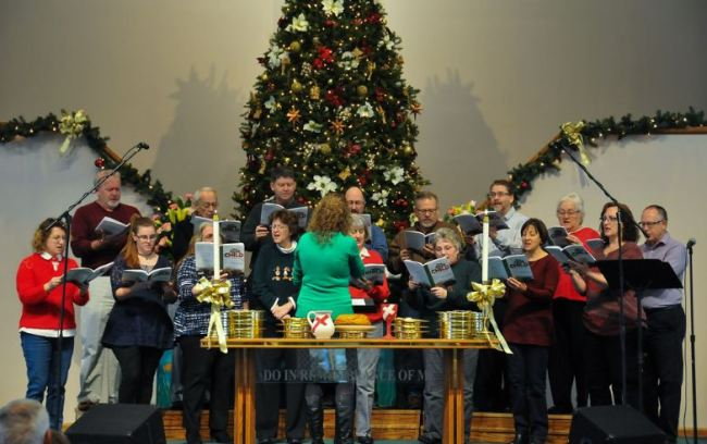 Christmas Cantatas For Small Church Choirs